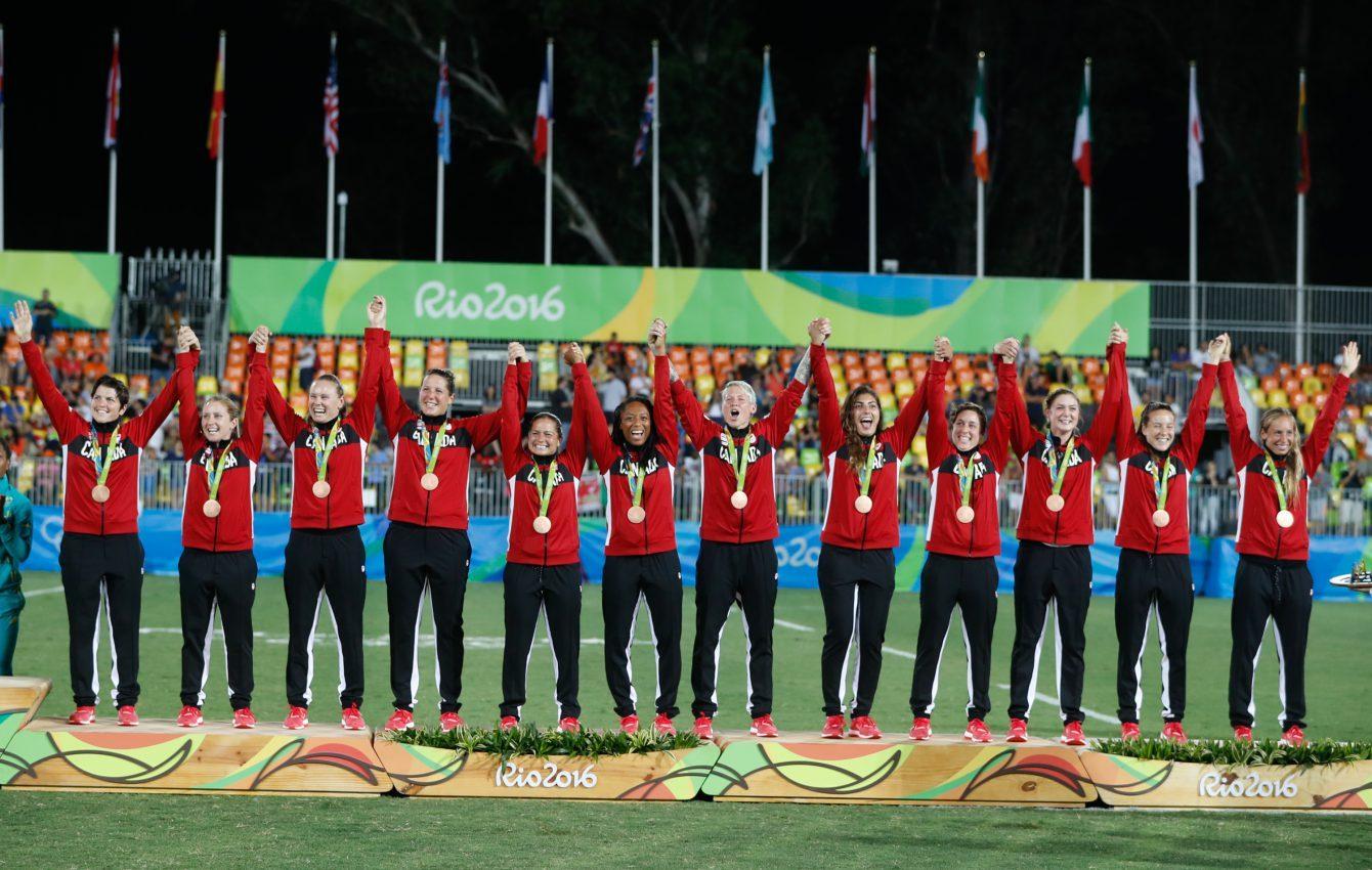 Rio 2016 Canada rugby bronze