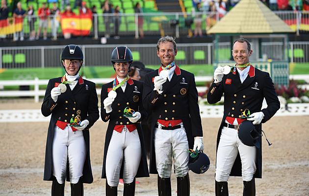 Rio 2016 Team Dressage