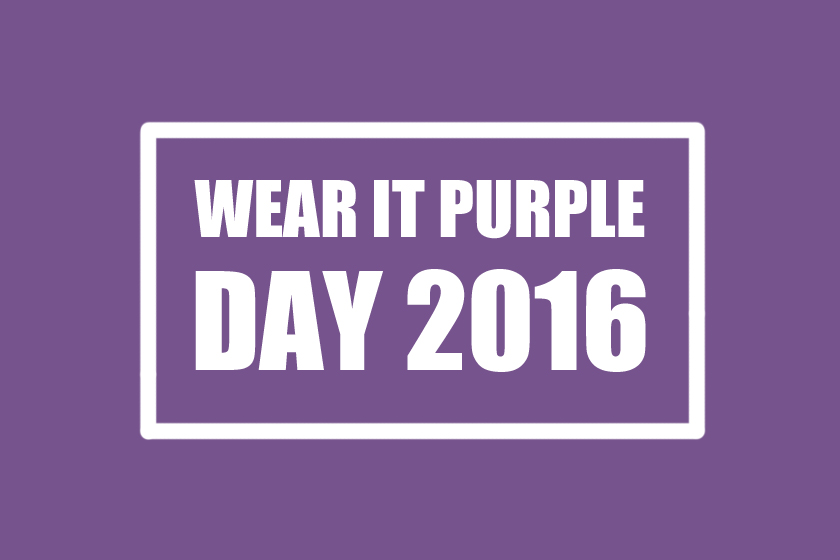 Wear It Purple Day 2016